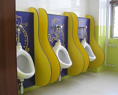 幼儿园卫生间隔断材料