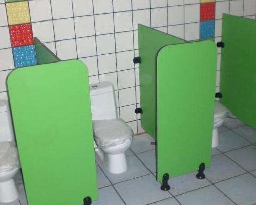 幼儿园卫生间隔断