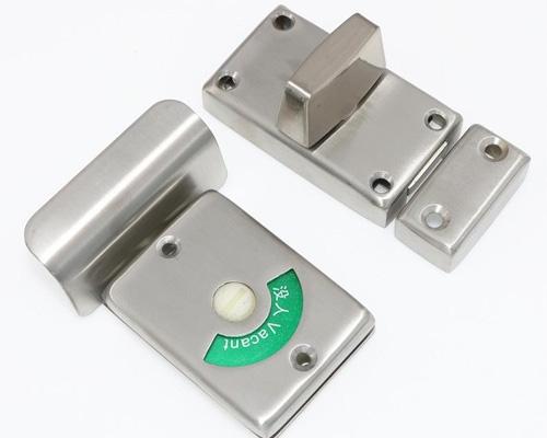 不锈钢卫生间隔断锁